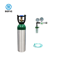 ISO9809-1 5L Medical Oxygen Gas Cylinder
