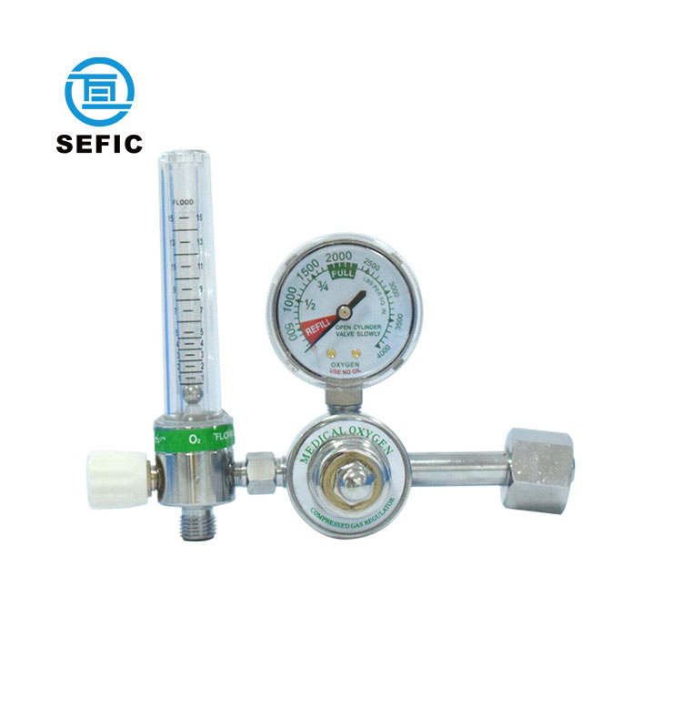 Oxygen Regulator Hot Sale High Quality Low Price Hospital Digital Medical Oxygen Regulator with Flowmeter Humidifier